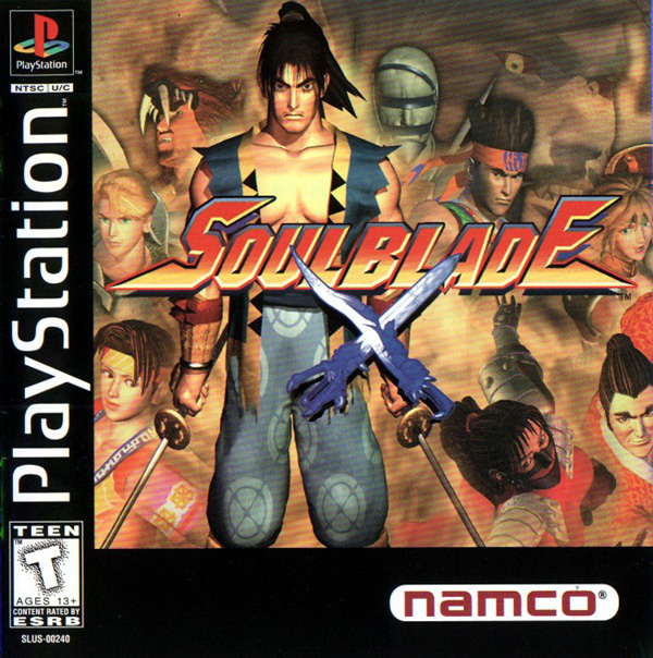 Soul Blade [NTSC-U] Front Cover